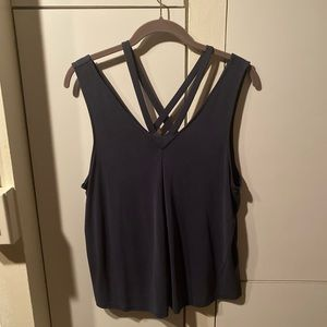 Navy Blue top American Eagle size L